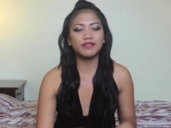 amateur asian girl tries white dick