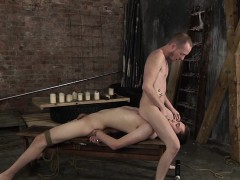 Eli Has Been Prepared For Sean, Stripped Naked And Tied