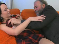 Young Beauty Gets Astonishing Experience With Old Lover