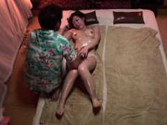 Subtitled Japanese Massage Clinic Busty Woman Oil Treatment