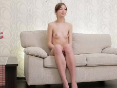 erotic teen gapes soft twat and gets deflorated