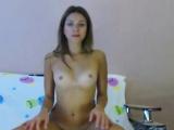 Beautiful Estonian Babe in White Slip Adore Anal