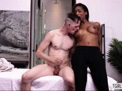 Shemale Chick Natassia Gets An Anal Fuck By A Hunk Stud