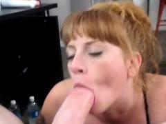 Wife perfect deepthroat on cam