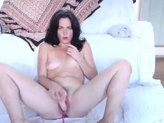 hot-black-haired-milf-squirting-on-live