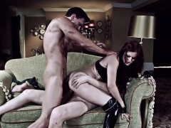 Gorgeous red head Mira is the goddess of fantasies. This