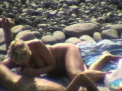 blowjob and handjob on beach WWW.ONSEXO.COM