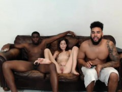 INTERRACIAL TEEN TAKES 2 BBC WEBCAM INTERRACIAL AMATEUR pt2 anjinha –