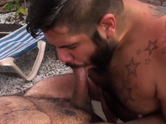 chubby-bear-fucked-before-cumming-in-trio