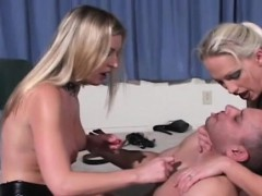 Powerless Boy Gets Smothered And Dominated By A Beauty