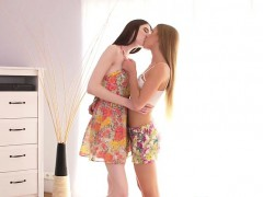 lesbian schoolgirls fondle each others twat WWW.ONSEXO.COM