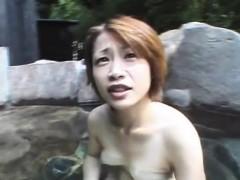 JAV married milf Maki Tomoda hot springs vacation Subtitled