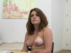 Wild Chick Has A Exciting Casting Session With Hung Guy