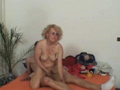wife finds old mother riding her man's dick WWW.ONSEXO.COM