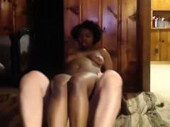 Nice Bbw Ebony Slut With Enormous Boobs Analed Jizzed