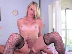 blonde-tgirl-nikki-vicious-rides-cock-in-reverse-cowgirl