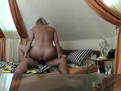 Chubby Wife Riding Me