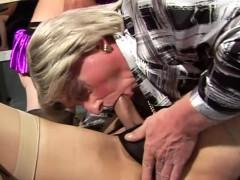 Three Older Amateur Trannys Sucking Rimming And Fingering