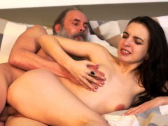 tricky old teacher – old teacher with her beautiful milana