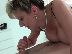 Unfaithful English Mature Gill Ellis Pops Out Her Giant Boob