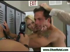 Fetsih Chicks Dominate Loser When He Gets Caught Peeping