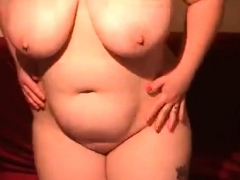Bbw Webcam Striptease