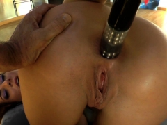 gaping butt babe toyed