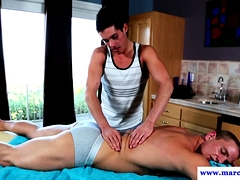 Athletic Masseur Banged By Jocks Cut Cock