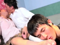 Toelicked Ladyboy Drilled In A Threesome