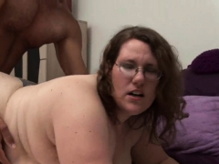 Man Fingers And Fucks Luscious Pussy Of One Corpulent Woman