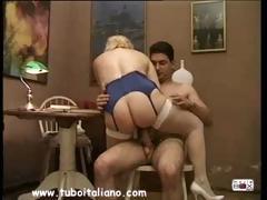 Italian Blonde Milf Quarantenne Ita