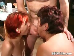 fat-slut-and-her-redhead-friend-enjoying-part5
