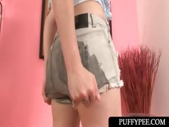 lusty-teenage-hottie-pissing-in-her-tiny-shorts