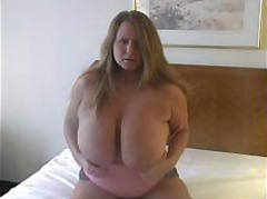 stupid-blonde-playing-with-her-big-boobs