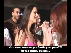 College Party Gone Wild With Chicks Flashing Tits And Doing