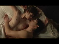 lizzy caplan tits and booty in a sex scene