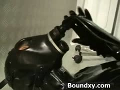 Ruthless Discipline For Whore In Latex