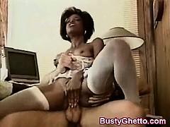 Auspicious African Vagina Rammed