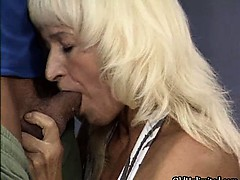 Nasty Blonde Whore Gets Horny Getting Part1