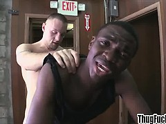 Doggystyle Fucking A Black Ass With A Big Cock