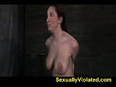 Kelly And Her Massive Boobs Bound 1