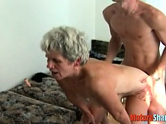 Granny Get Her Pussy Fucked Raw