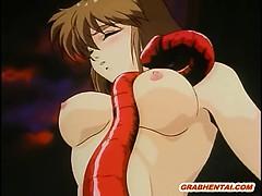 Japanese Hentai Monsters Gangbang