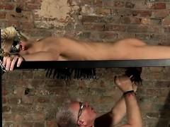 Hot Gay Scene Master Kane Has A Fresh Toy, A Metal Sofa Fram