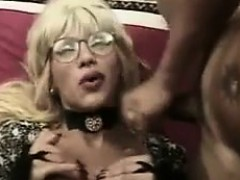 Blonde Shemale Getting Fucked