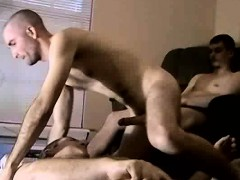 Two Amateur Hunks Tugging On Their Hard Cocks