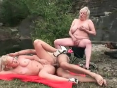 Old Dude Fuck Her Wife And Hot Blonde