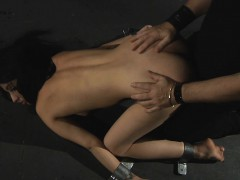 Flexible Kerry Used For Bondage Fantasy Play