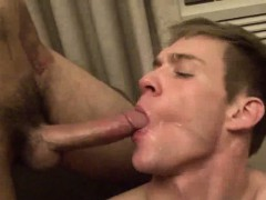 Straight Guy Sucking Cock And Swallowing Cum