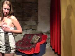 Hot Czech Teen Lapdances For Bf